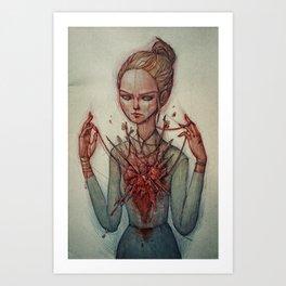 Mixed Feelings Art Print