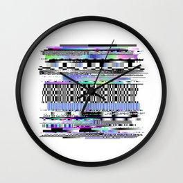 Glitch Ver.2 Wall Clock