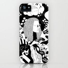 Charlie Don't Surf iPhone Case
