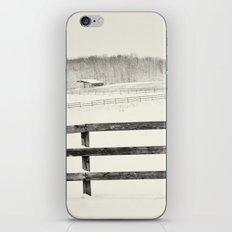 Winter Pasture iPhone & iPod Skin