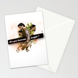 Are you lonesome tonight? Stationery Cards