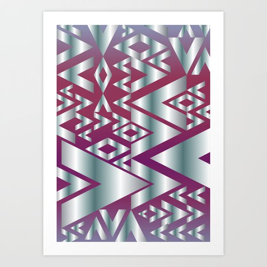 Metal Beat Art Print
