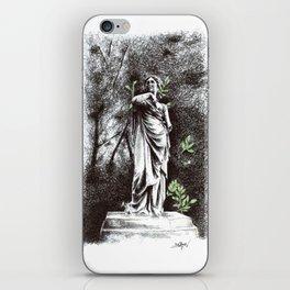 Iveagh Gardens Statue iPhone Skin