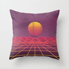 Neon Dream's  Throw Pillow