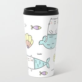 Ocean Merkitties Travel Mug