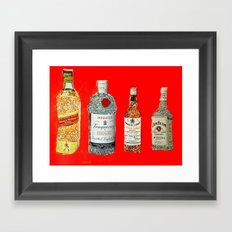 Glam Bar Framed Art Print