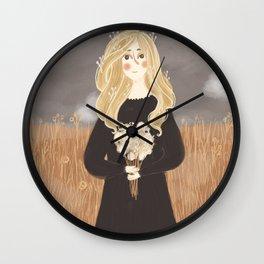 Edelweiss Wall Clock