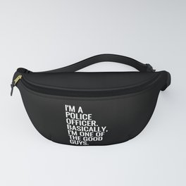 Police Officer Fanny Pack