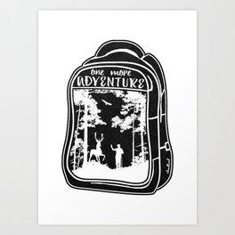 One More Adventure Art Print