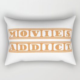 Movies Addict Rectangular Pillow