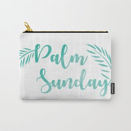 Palm Sunday Leaves Carry-All Pouch