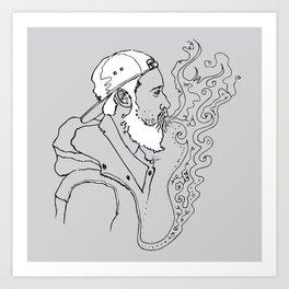 sketch 26 Art Print
