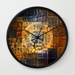 (Was) Green Mold Mandala 5 Wall Clock