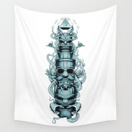 Surf Totem Wall Tapestry