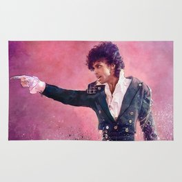 The Purple Rain of Prince Rug