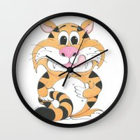 gizmo Wall Clocks featuring GIZMO by Zookeeper!