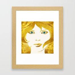 24 Karat Babe Framed Art Print