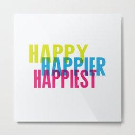 Happy just cause Metal Print