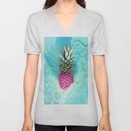 Pineapple Waves Unisex V-Neck