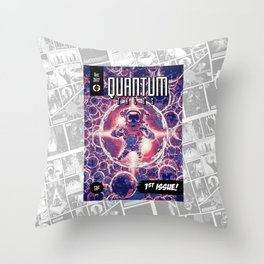 Quantum Tales 1st Issue Throw Pillow