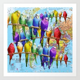 My World Art Print