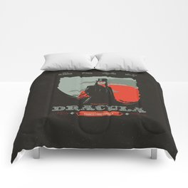 Dracula movie poster Comforters