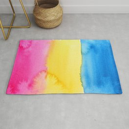 Pansexual Flag Rug
