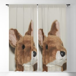 Cute kangaroo plush 0031 Blackout Curtain