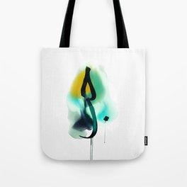 """LOVE"" in Arabic calligraphy Tote Bag"