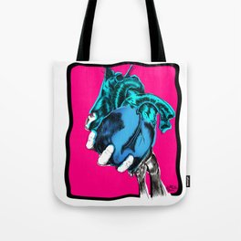 Wet Heart Tote Bag