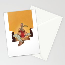 Flying Turtle Stationery Cards