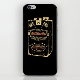 Old Time Car Oil Can  iPhone Skin