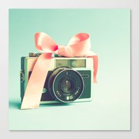 forever young Canvas Prints featuring Forever young  by Caroline Mint