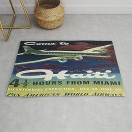 Vintage poster - Haiti Rug