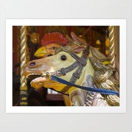 The galloper Art Print