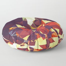Abbey Road Geometric Floor Pillow