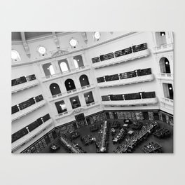 The State Library of Victoria Canvas Print
