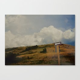 One Way Out Canvas Print