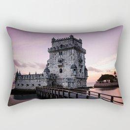 tower of belem Rectangular Pillow