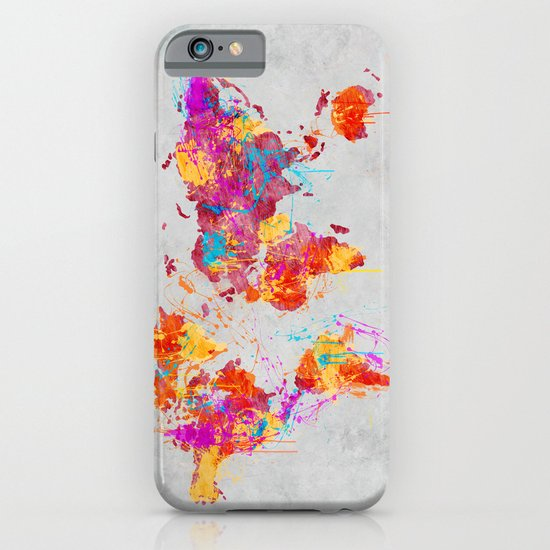 Mother Earth Crying iPhone & iPod Case