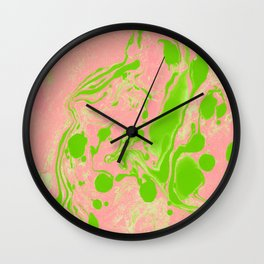 Blush + Greenery #society6 #decor #buyart Wall Clock