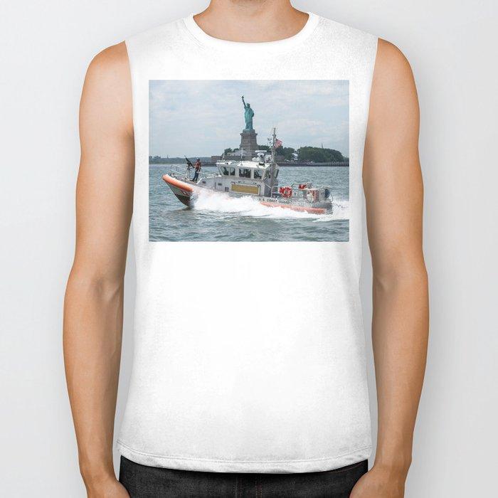 Coast Guard and Liberty Biker Tank