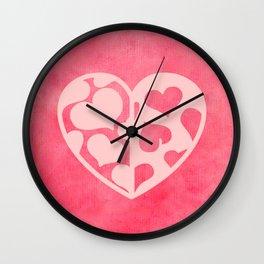 Heart_2015_0420 Wall Clock