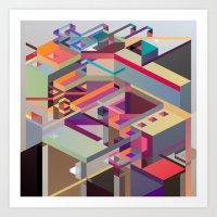 Fabrik 1 Art Print