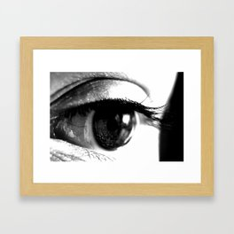 You're the Only One I see Framed Art Print