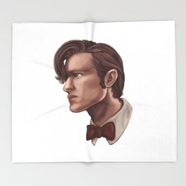 The eleventh doctor Throw Blanket