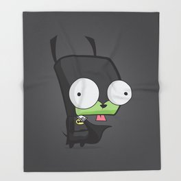 I'm BatGir Throw Blanket