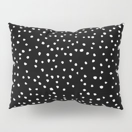 Polka Spots – Black & White Pillow Sham