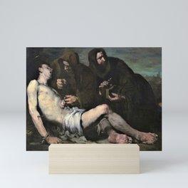 12,000pixel-500dpi - Theodule Ribot - Saint Sebastian, Martyr - Digital Remastered Edition Mini Art Print
