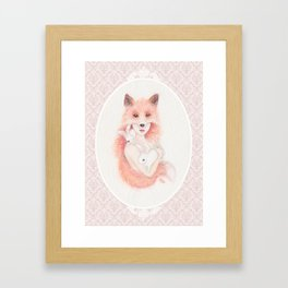 Vixen Framed Art Print